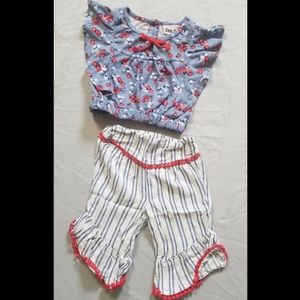 Girls summer pants outfit